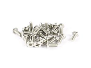 30 Pcs VESA TV LCD Monitor Mounting Philips Head Screws M4 x 10mm
