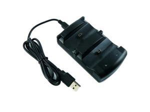 Dual Charger Stand Station Dock + USB Cable for Sony PS3 Wireless Controller New