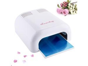36W Nail Acrylic UV Lamp Acrylic Gel Salon CURING Light Timer Dryer SPA