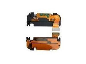 Charger Port Dock Flex Cable + Mic Microphone + Buzzer Ringer or Loud Speaker + Antenna Sticker PRE-INSTALLED ASSEMBLED + Cleaning Cloth For Apple iPhone 3g