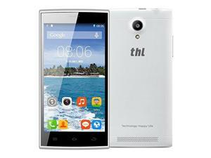 THL T6C RAM 1GB+ROM 8GB 5.0 inch Android 5.1 Lollipop 3G Smart Phone, MTK6580 Quad Core 1.3GHz, Dual SIM (White)