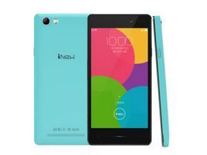 iNew U3 4.5 Inch Android 5.1 Unlocked Smartphone, MTK6735 Quad Core 1.0GHz, 1GB RAM + 8GB ROM GSM & WCDMA & FDD-LTE (Blue)