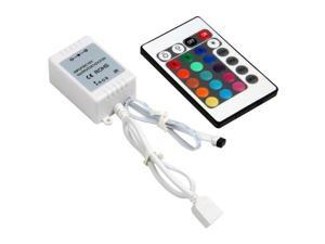 IR Box Remote Controller 24 Keys for RGB LED Light Strip