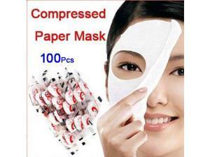 Wholesale 100 pcs Skin Face Care DIY Facial Paper Compress Masque Mask DIY Mask