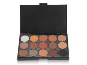 Professional 15 Colors Women Cosmetic Makeup Neutral Nudes Warm Eyeshadow Palette
