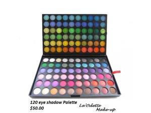 THZY 120 Colors eyeshadow eye shadow palette new in box, complete eyeshadow palette