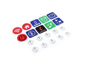 10pcs Smart NFC Tags Stickers for Samsung Galaxy S5 S4 Note 3 Nokia Lumia 920 Sony Xperia Nexus 5