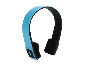 2.4G Wireless Bluetooth V3.0 + EDR Headset Headphone with Mic Bluetooth Stereo Headset with Microphone-in for Iphone 4/4s /Ipad 2 3 /Ps3 - connect two Bluetooth equipments at the same time (Blue)