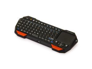 THZY Mini Portable Wireless Bluetooth 3.0 Keyboard with Mouse Touchpad for Windows Android iOS