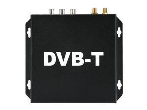 DVB-T Mobile Car Digital TV Box Analog Mini TV Tuner High Speed 240km/h Strong Signal Receiver for Car Monitor