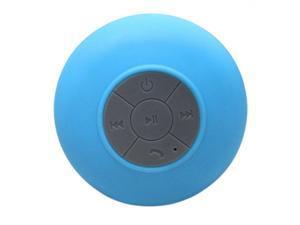THZY Portable Car Bathroom Handsfree Wireless Bluetooth Speaker (Blue)