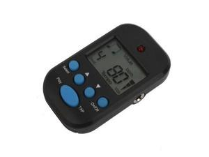 M50 Black Digital LCD Beat Tempo Metronome Clip + Battery