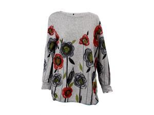 Women Maxi Loose Long Sleeve Long Shirt Casual Sweater Shirt Blouse Long Jumper Mini Dress FD03