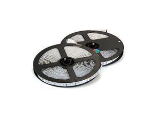 THZY 10m 2x5M 3528 SMD 600 LED String Strip Light RGB + remote control