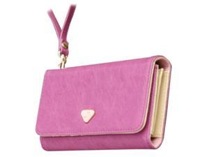 THZY Multifunction Clutch Wallet Zip Bag Phone Case For iPhone 4 4S 5 5S Galaxy S2 S3 HOT SALE Purple
