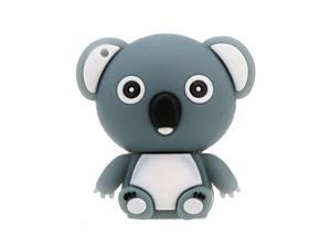 Have Shaped USB 2.0 Flash Disk Drive Storage Memory Stick Thumb Pen Drive  Mini  Animal Cartoon Grey 4GB
