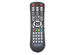 Black NEW USB PC remote control keyboard + USB IR receiver for Computer Black