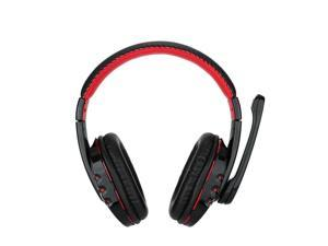 OVLENG V8 High quality Professional Wireless Bluetooth 3.0 Headset Handsfree Gaming Headphones Adjustable Headset with Microphone for Smart Phones PS3 Desktop Notebook Tablet Black