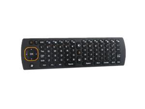 Keyboard 2.4G 6D gyroscope Fly Air 360 °rotation mouse Remote Controller for Android Smart TV BOX Mini Handheld PC
