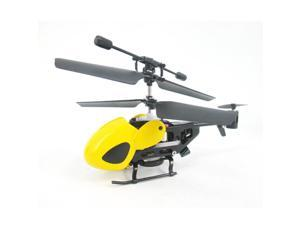 QS QS5013 2.5CH Super Mini Nano Remote Control RC Helicopter X'mas Gift Toy Yellow