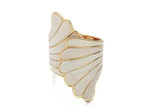 THZY Metal cuff open wing Bracelet Bangle Woman's jewelry