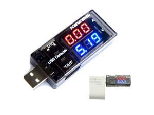 SODIAL KEWEISI USB Charger Doctor Voltage Current Meter Mobile Power Detector Battery Tester