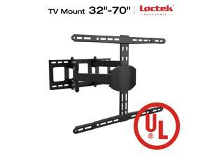 "LOCTEK L8 Articulating Full Motion TV Wall Mount for 32""-70"" LED LCD Plasma TVs up to 99 lbs with Leveling Adjustments & Cable Management System"