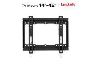 "Loctek Tv Wall Mount Low Profile for Tv Size 14""-42"" LED LCD Plasma Flat Screen Samsung/Coby/LG/VIZIO/Sharp/Sony/Toshiba/Seiki tv++"