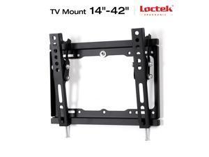 "Loctek Tilt TV Wall Mount Low Profile for TV Size 14""-42"" LED LCD Plasma Flat Screen Samsung/Coby/LG/VIZIO/Sharp/Sony/Toshiba/Seiki tv++"