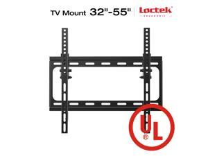"Loctek UL Listed T2S Heavy Duty Tilt TV Wall Mount Low Profile for TV Size 32""-55"" LED LCD Plasma Flat Screen Samsung/Coby/LG/VIZIO/Sharp/Sony/Toshiba/Seiki tv++"