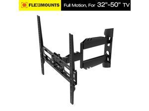 "50% OFF! on sale! 32""37"" 40"" 42"" 50"" Articulating Swivel Tilt LCD LED TV Wall Mount Bracket Super Low Profile fits for most of Samsung/Coby/LG/VIZIO/Sharp/Sony/Toshiba/Seiki tv++ FLEXIMOUNTS® A06"