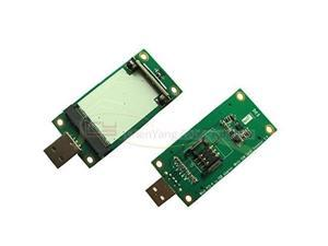 Mini PCI-E Wireless WWAN to USB Adapter Card with SIM Card Slot Module Testing Tools