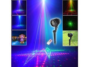RGB Lawn Lamp Waterproof Christmas Courtyard Pin Lights
