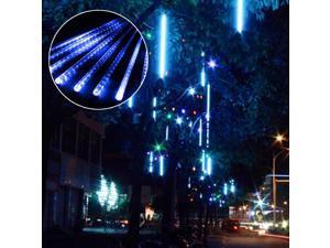 LED 50cm Meteor Rain Lights Christmas Decorative Colorful Lamp Blue