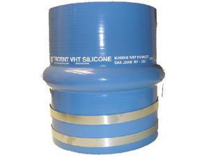Trident hose 272V8000SS 8 BLU SILI HB HMP/CLAMPS
