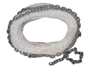 New England Ropes 62H201600200 CHAIN RODE 1/2 X 200