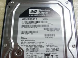 """HP 459319-001 500GB 7200 RPM SATA 3.0Gb/s 3.5"""" Internal Hard Drive NEW Bulk"""