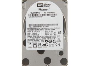 "Western Digital WD VelociRaptor WD5000BHTZ 500GB 10000 RPM 64MB Cache SATA 6.0Gb/s 2.5"" Enterprise Hard Drive Bare Drive"