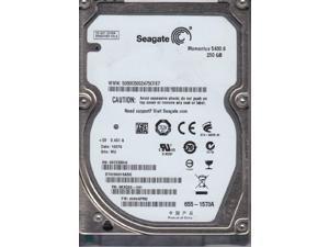 "Seagate Momentus  250GB 5400RPM 2.5"" Sata Laptop Hard Drive ST9250315ASGBare Drive"