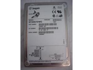 Seagate 4.5GB 80-Pin SCSI SCA Drive ST34572WC Bare Drive
