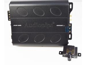 Audiopipe Apmi-2125 2 Channel Amp Car Audio Amplifier & Remote Knob Apmi2125