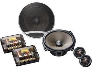 """Pioneer  TS-D1730C  6.75""""  6.75"""" D-series 260-watt Component Speaker Package"""