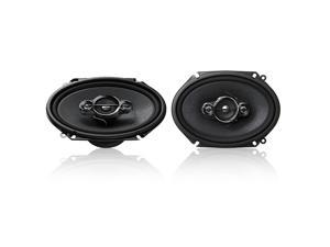 "New Pair Pioneer Ts-A6886r 6X8"" 350 Watt 4 Way Car Audio Coaxial Stereo Speakers"