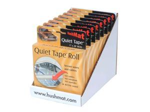 New Hushmat 80300 8 Roll Shelf Pack Car Audio Dampening Quiet Tape