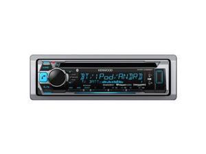 New Kenwood Kmr-D365bt Marine Bluetooth Stereo Cd Player Boat Radio