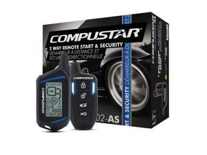 New Compustar Cs6502-As 2-Way Car Alarm Security System Remote Start Cs6502as