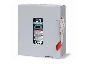 SIEMENS GF321N 30A 240V 3-Pole 4-Wire Fusible General Duty Safety Switch, NEMA-1