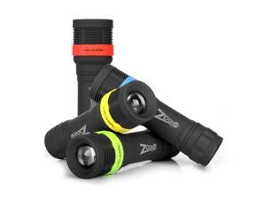 NEBO Tools - 5947 Zoom 130 LED Lumens Flashlight w/ 4X Zoom - Black