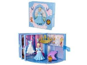 Cinderella Disney Princess Storybook Play Set Polly Pocket Dolls