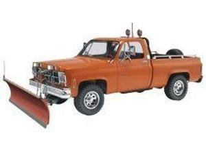GMC Pickup Truck w/Snow Plow 1/24 Revell